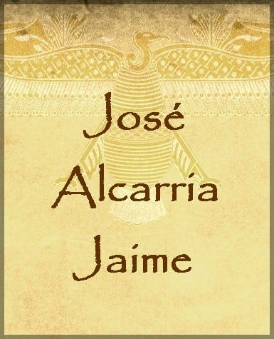 Alcarria Jaime, José