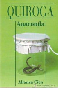 Anaconda de Horacio Quiroga