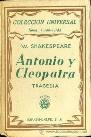 Antonio y Cleopatra de Shakespeare, William
