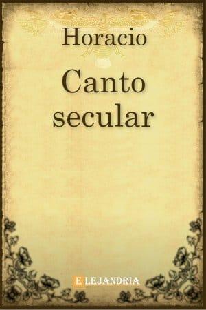 Libro Canto Secular gratis en PDF,ePub - Elejandria