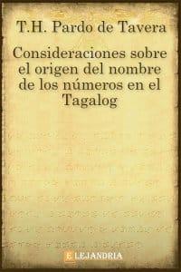 Consideraciones sobre el origen del nombre de los números en el Tagalog de Pardo de Tavera
