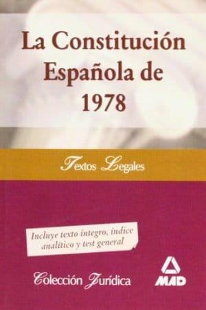 Constitución Española 1978 de Anónimo