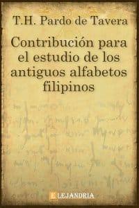 Contribución para el estudio de los antiguos alfabetos filipinos de Pardo de Tavera