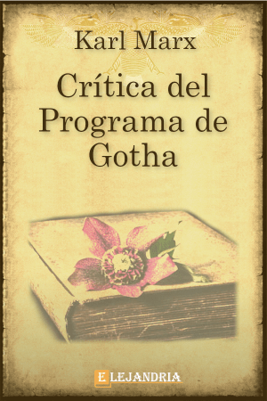 Crítica del Programa de Gotha de Marx, Karl