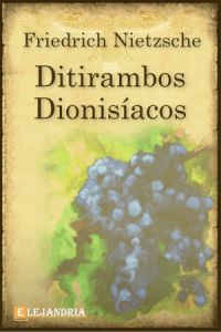 Ditirambos de Dionysos de Friedrich Nietzsche