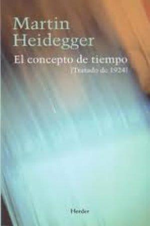 El concepto de tiempo de Heidegger, Martin