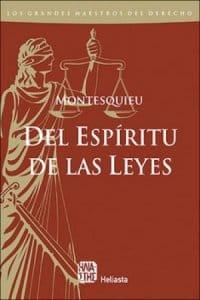 Descargar El espíritu de las leyes de Montesquieu