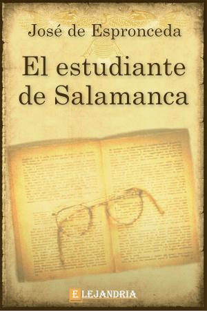 Libro El estudiante de Salamanca gratis en PDF,ePub