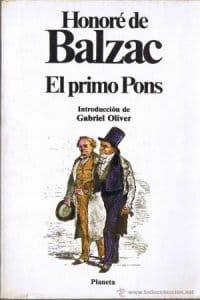 El primo pons de Balzac, Honoré De