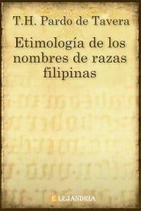 Etimología de los nombres de razas filipinas de Pardo de Tavera