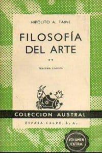 Filosofía del arte - Tomo I de Hippolyte Taine