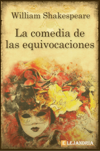 Descargar La comedia de las equivocaciones de Shakespeare, William