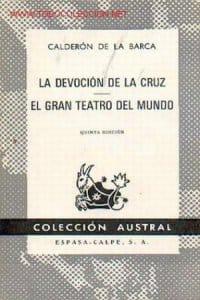 La devoción de la cruz de Calderón de la Barca, Pedro