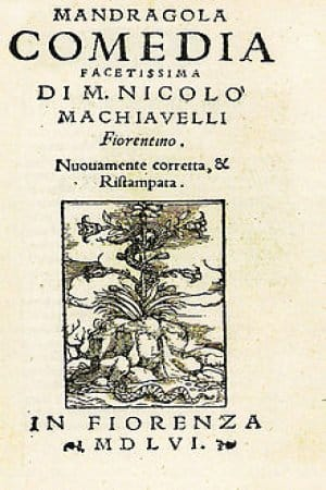 La mandrágora de Nicolás Maquiavelo