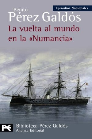 Descargar La vuelta al mundo en la Numancia de Benito Pérez Galdós
