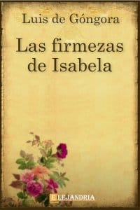 Las firmezas de Isabela de Luis de Góngora