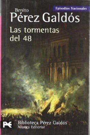 Las tormentas del 48 de Benito Pérez Galdós