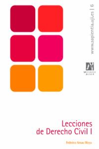 Lecciones de Derecho Civil I de Arnau Moya, Federico