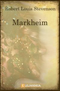 Markheim de Robert Louis Stevenson