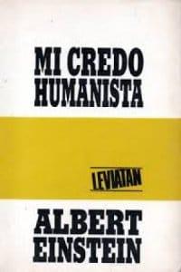 Mi credo Humanista de Einstein, Albert