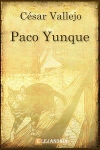 Paco Yunque de César Vallejo