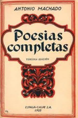 Poesías Completas de Machado, Antonio
