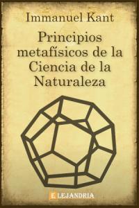 Principios metafísicos de la Ciencia de la Naturaleza de Immanuel Kant