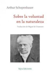Sobre la voluntad en la naturaleza de Schopenhauer, Arthur