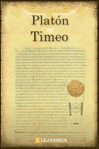 Timeo de Platón